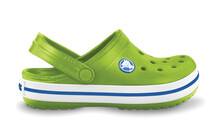 Crocs Crocband Kids volt green/varsity blue